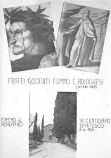 2634) BOLOGNA 1965 VVI CENTENARIO DANTESCO EREMO DI RONZANO.