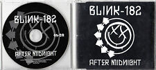 BLINK 182 After Midnight 2011 UK 1-track promo CD UNPLAYED