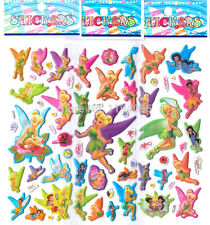 10 x TINKERBELL fairy Sticker strips Party Bag Fillers Birthday favours game