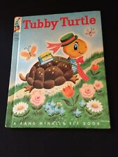 1959 TUBBY TURTLE #8321 A Rand McNally ELF BOOK Very Good Clean Condition