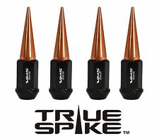 16 VMS RACING 89MM FORGED STEEL LUG NUTS W/ ROSE GOLD SPIKES FOR POLARIS RZR