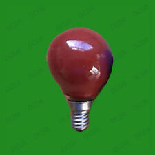 6x 15W Coloured Round Golf Ball Light Bulbs, Small Edison Screw Cap SES E14 Lamp