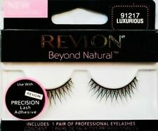 REVLON BEYOND NATURAL FALSE EYELASHES EYELASH EYE LASH LUXURIOUS 91217