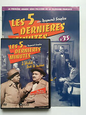 LES 5 DERNIERES MINUTES .. DVD N°35 + FASCICULE ... RAYMOND SOUPLEX