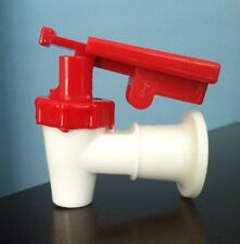 Sunbeam Water Cooler Faucet /VALVE RED W/Child Safety TOMLINSON HANDLE  HQ USA