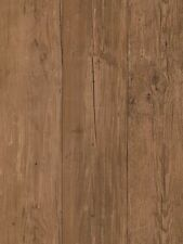 Chocolate Brown Planks With Wood Grain Sure Strip Wallpaper FK3931