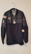 PITTSBURGH STEELERS 2016 NIKE NFL SALUTE TO SERVICE HYBRID JACKET 2XL