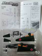 "WWII MAS Military aircraft series Big Bird Vol.1 CFR005  1/144 (05) Mitsubishi G4M ""Betty"" (763rd Kokutai)"