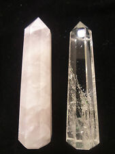 Shiv Shakti (Rose Wand and Crystal wand)