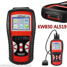 KW830 AL519 OBD2 II EOBD CAN Car Fault Code Reader Scanner Diagnostic Scan Tool