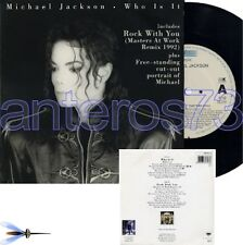 "MICHAEL JACKSON ""WHO IS IT"" RARE 45RPM 1992 - MINT"