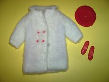 Chill Chasers Skipper 1960s Fashions doll clothes outfit coat hat Vtg Barbie