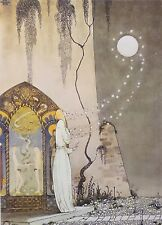 Kay Nielsen 1975 Vintage Art Print Lithograph East of the Sun West of the Moon