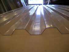 POLYCARBONATE ROOFING SHEET 4.8 M LENGTH - CLEAR GRECA PROFILE