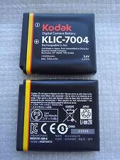 Batterie D'ORIGINE KODAK KLIC-7004 KLIC7004 Fuji NP-50 NP50 Pentax D-LI68 DLI68
