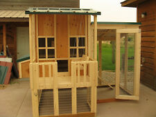 Chicken coop plan & material list, The Little Coop On The Prairie, super cute