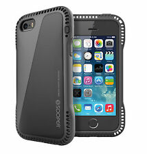 SOOPER iPhone SE / 5s / 5 Case Extreme Durable Air Cushion Series -Piano Black