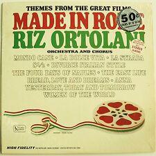 RIZ ORTOLANI  - MADE IN ROME - EX- Mono Shrink! Mondo Cane / Fellini 1960's film