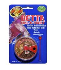 Zoo Med Betta Dial-A-Treat with 3 Betta Treats Mysis, Daphnia and Bloodworms