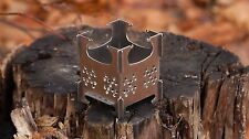 Little Mouse Folding Stainless Steel Fold Wood Burning Stove Pocket