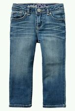 AUTH. BNWT BABY GAP 1969 PLAYDATE STRAIGHT JEANS FOR TODDLER GIRLS, 4yrs.