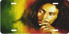 Bob Marley License Plate