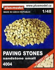 Plus model Diorama Paving stones Sandstone for Street House 1:48 small