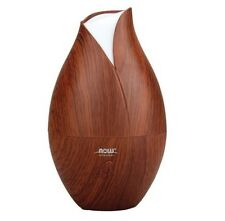 Now Foods Ultrasonic Wood Grain ESSENTIAL OIL DIFFUSER Aromatherapy Spa Mister
