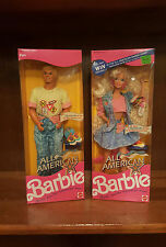All American Barbie and Ken