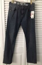QUICKSILVER NWT Young Men's Sz 29 Slim Straight Denim Jeans Skater Medium Wash