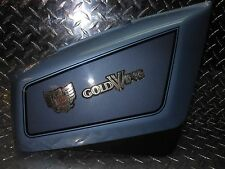 84-87 Honda GL1200 GL 1200 A I Right Side Frame Cover Panel Blue Metallic