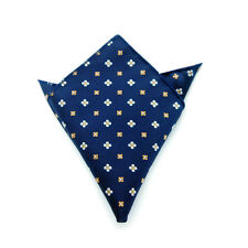 Men's Suit Pocket Towel Hanky Wedding Silk Polyester Pocket Handkerchiefs 17#