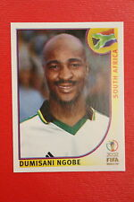 PANINI KOREA JAPAN 2002 # 161 SOUTH AFRICA NGOBE WITH BLACK BACK MINT!!!