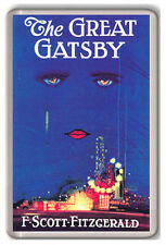 THE GREAT GATSBY F SCOTT FITZGERALD FRIDGE MAGNET IMAN NEVERA
