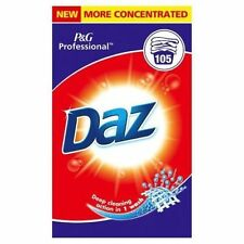 Daz P&G Professional 105 washes Home Washing Laundry Powder Detergent New