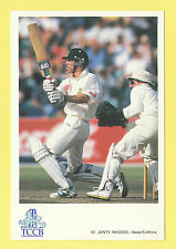 CRICKET - CLASSIC CRICKET POSTCARD - NO. 51 -  JONTY  RHODES  OF  SOUTH  AFRICA