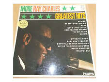 Ray Charles ‎-  More Ray Charles Greatest Hits - LP