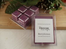 Berrylicious Scented 100% Soy Wax Melt - A Strong Fruit Blend Scent