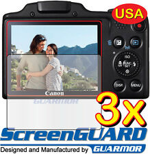 3x Clear LCD Screen Protector Cover Guard Film Canon PowerShot SX-510 SX510 HS
