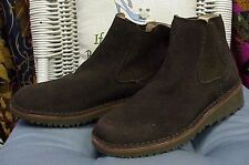 "FRYE ""Pitstop Chelsea"" designer brown suede ankle boots, sz. 6 M"