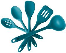 StarPack Premium Silicone Kitchen Utensil Set (5 Piece) in Hygienic Solid (NEW)