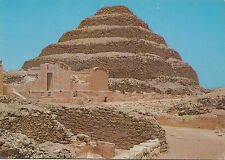 BF27200 sakkara king zoser s step pyramid  egypt  front/back image