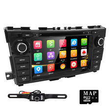 """GPS Navi 8"""" 2 Din Touch Screen Car Stereo DVD Player For Nissan Teana/Altima+CAM"""