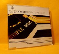 MAXI Single CD SIMPLE MINDS Spaceface 2TR 2002 pop rock