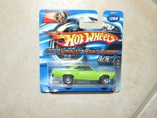 HOTWHEELS 1:64 2006 N°088 MOTOWN METAL PLYMOUTH ROAD RUNNER 1970