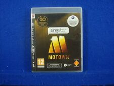 ps3 SINGSTAR MOTOWN Game Playstation PAL