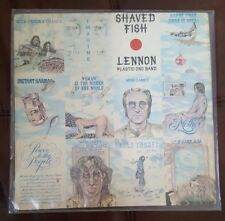 "SHAVED FISH John Lennon Plastic Ono Band 12"" Vinyl/Album 1975 Apple Record EMI"