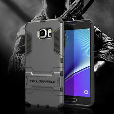 For Samsung Galaxy Note 5 Hybrid Armor Protective Impact Hard case Stand Cover
