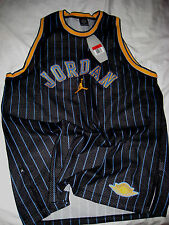 AIR JORDAN 20 YR ANNIVERSAY CARMELO ANTHONY ALL SEWN PATCHES JERSEY-L