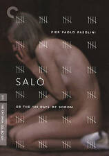 Criterion Collection: Salo Or 120 Days of Sodom, New DVDs